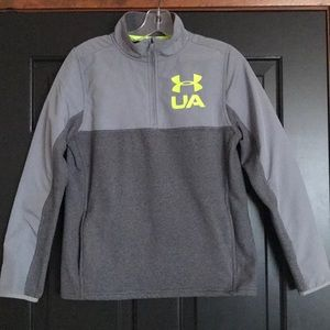 Youth Under Armour 1/4 Zip Pullover with pockets